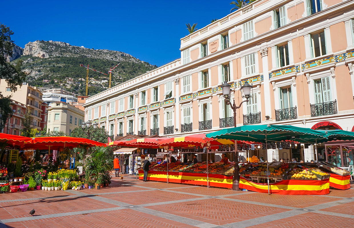Monaco Condamine Market | Organisation of events at the Condamine market by RMES Monaco Services